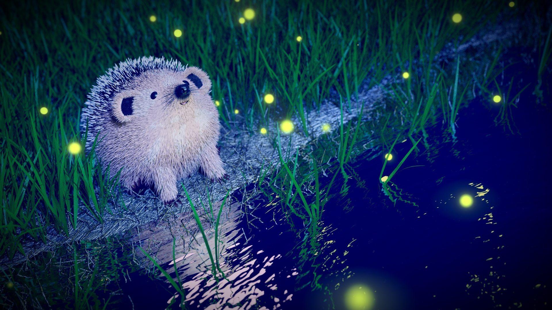 Cute Fireflies Wallpaper 1920x1080p Free Download Good Night With Hug 1920x1080 Wallpaper Teahub Io