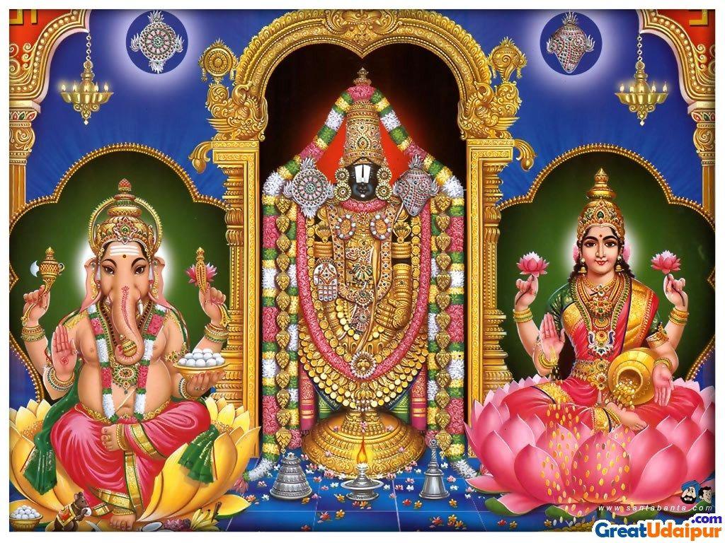 Hindu God Wallpapers Group - Lord Shiva Lord Ganesha Lord Venkateswara - HD Wallpaper