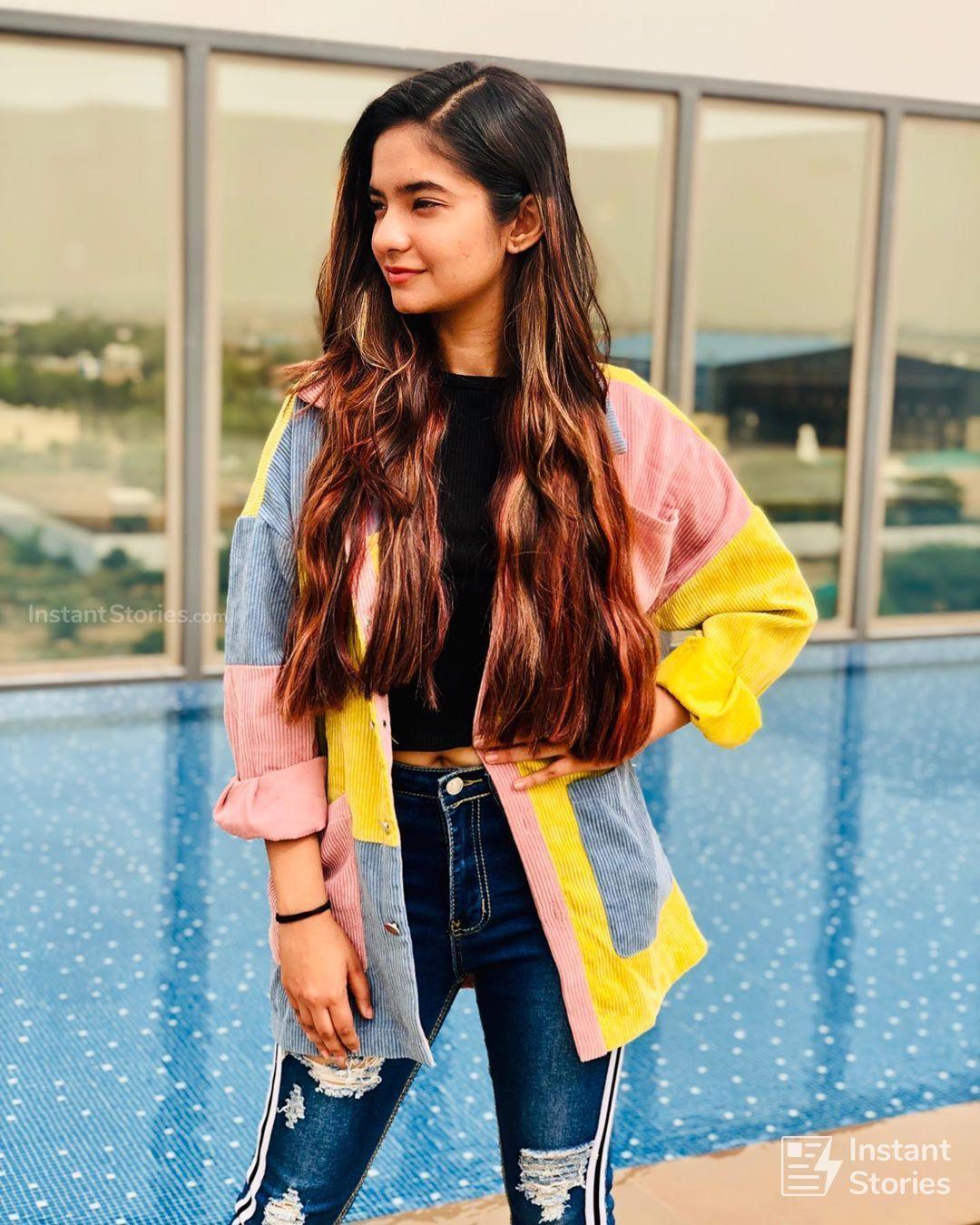Anushka Sen Latest Beautiful Hot Hd Photoshoot Photos - Instagram Anushka Sen - HD Wallpaper