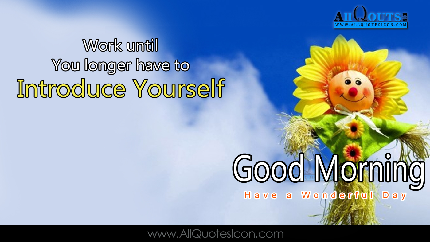 English Good Morning Quotes Wshes For Whatsapp Life - Morning Greetings In English - HD Wallpaper