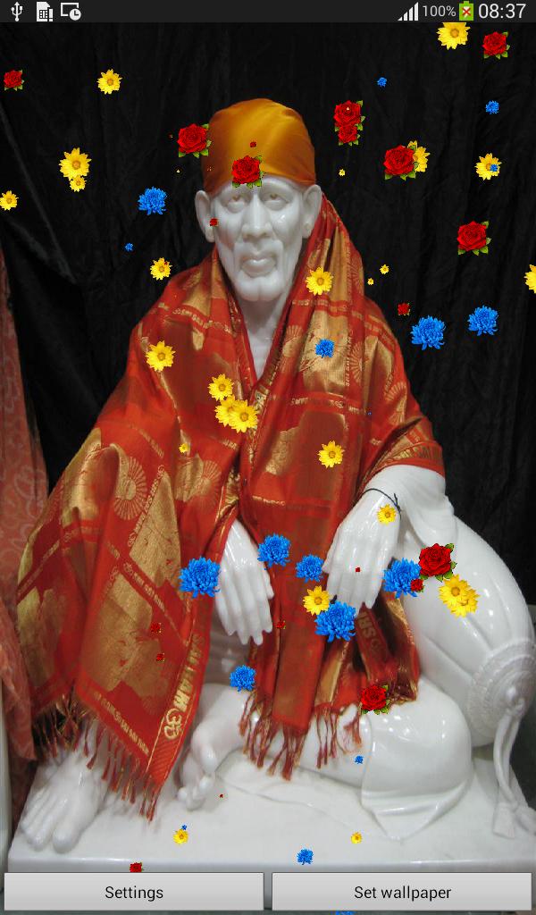 Sai Baba Live Wallpaper Hd 600x1024 Wallpaper Teahub Io