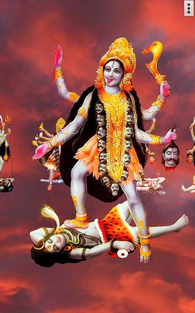 Download D Maa Kali Live Wallpaper Beautiful Durga Maa Kali 640x1024 Wallpaper Teahub Io