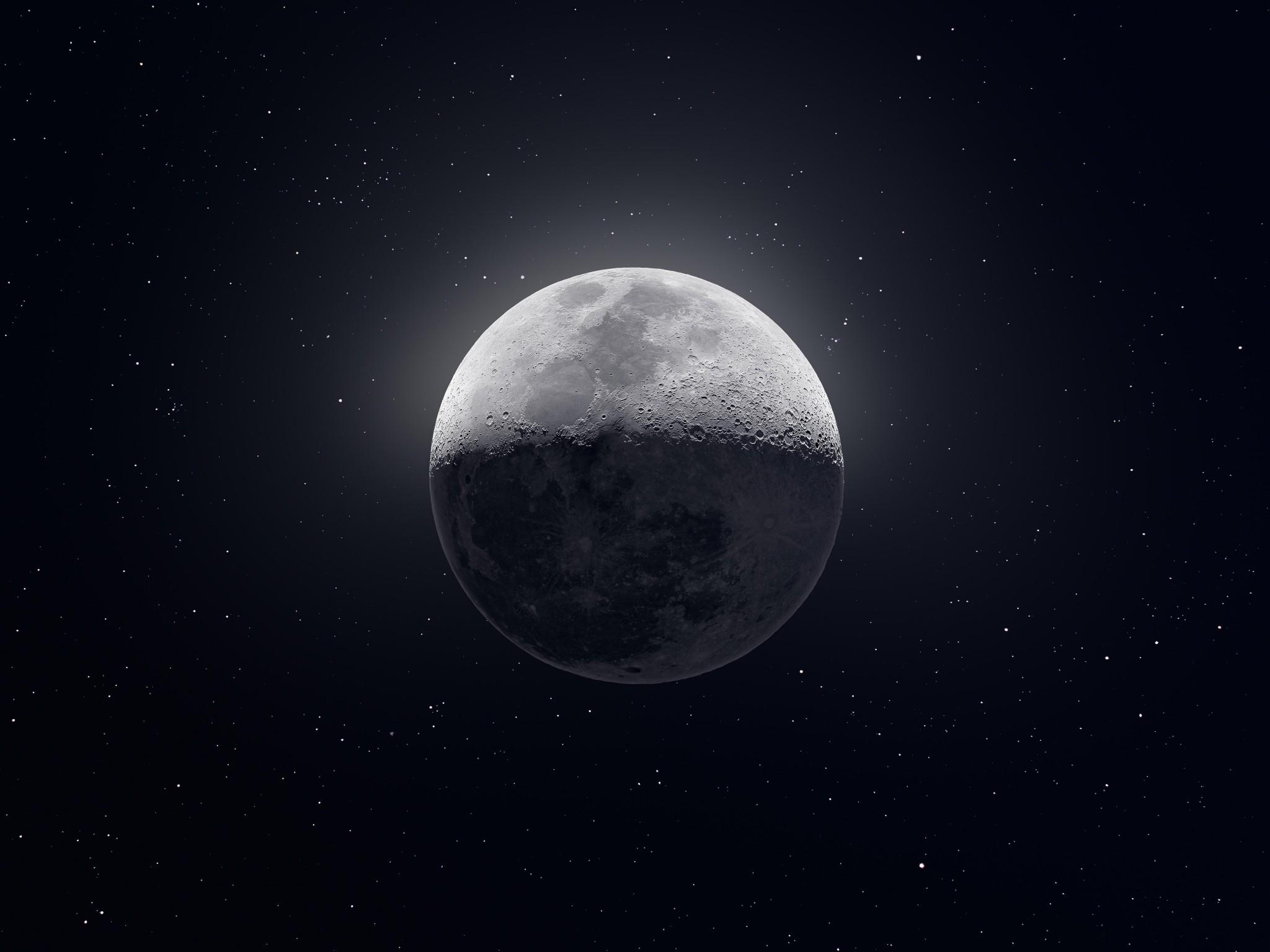 134 1347258 moon black and white stars