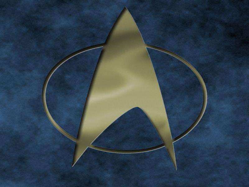 Star Trek The Next Generation Logo Engraved Wallpaper - Star Trek Next Generation Symbol - HD Wallpaper