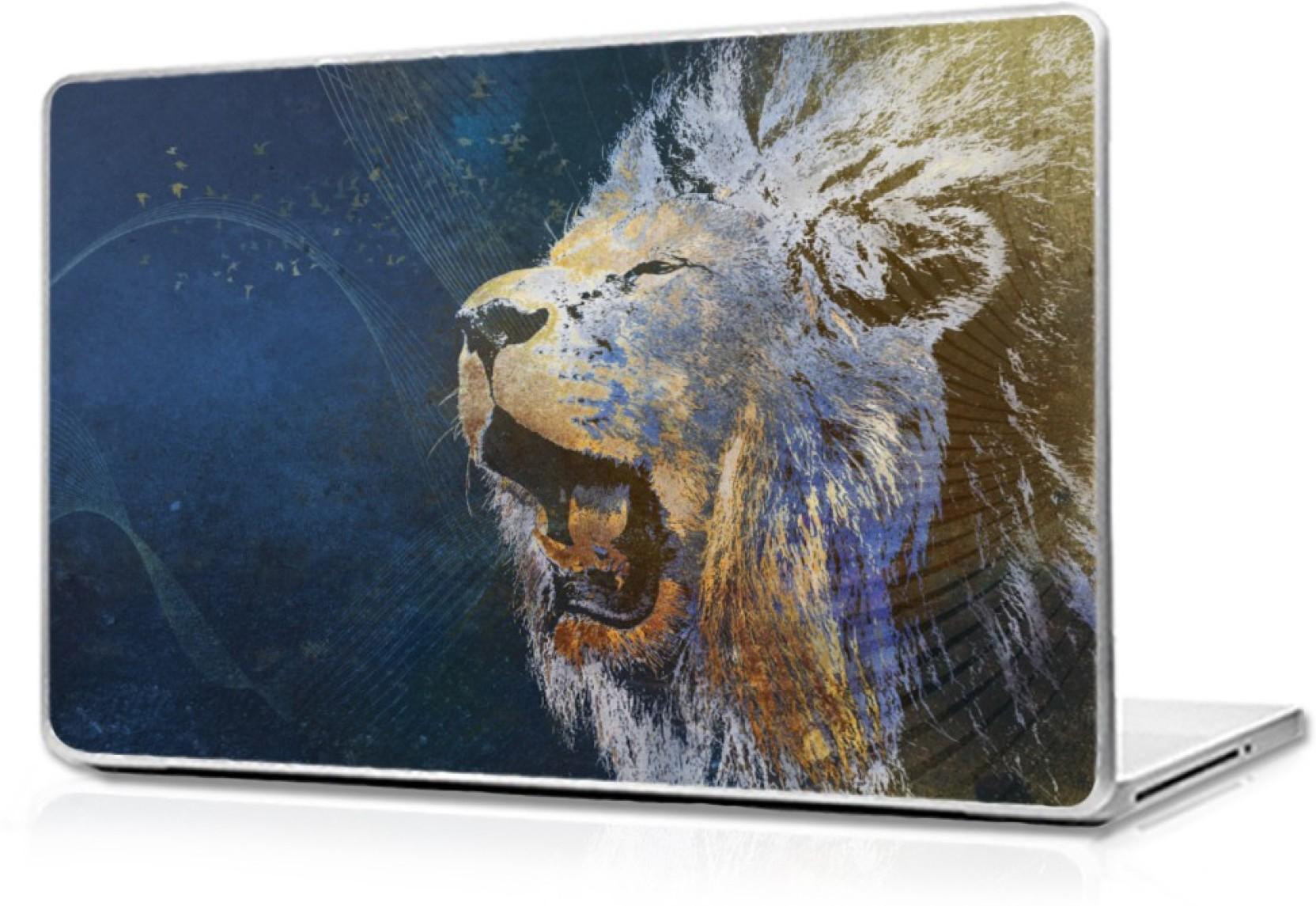 Digital Art Roaring Lions Art Prints - HD Wallpaper
