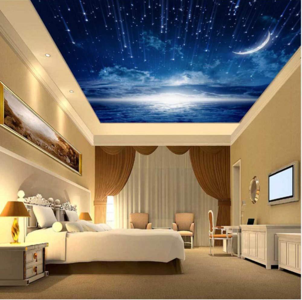 3d Ceiling Wallpaper For Bedroom - HD Wallpaper