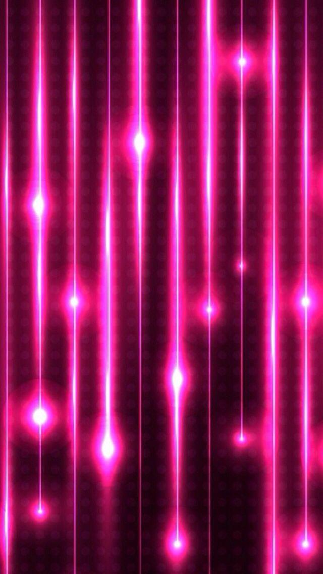Pink Neon Lights Wallpaper Neon Pink Lights Pink In - Fuschia Iphone - HD Wallpaper