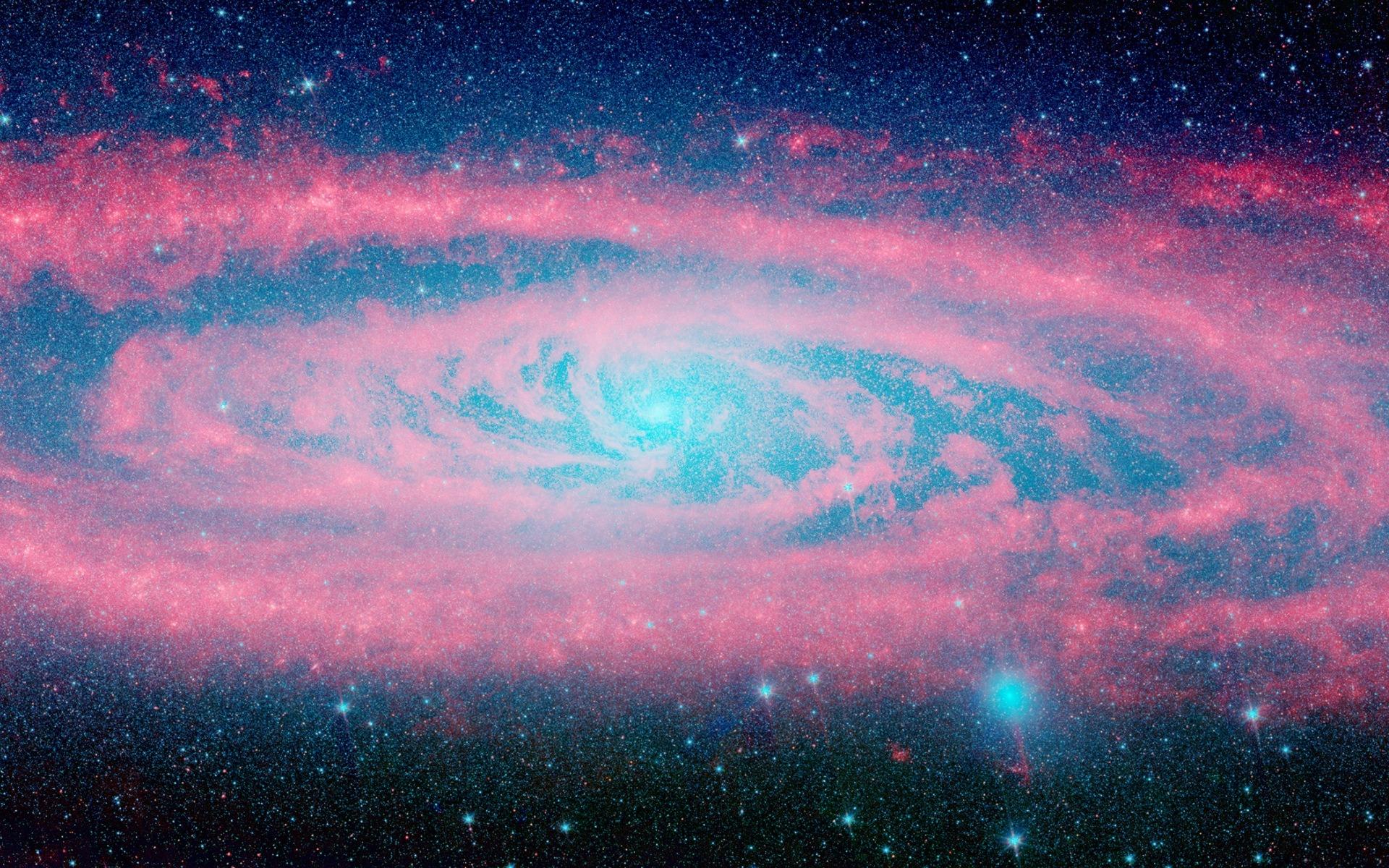 135 1355650 andromeda galaxy pink