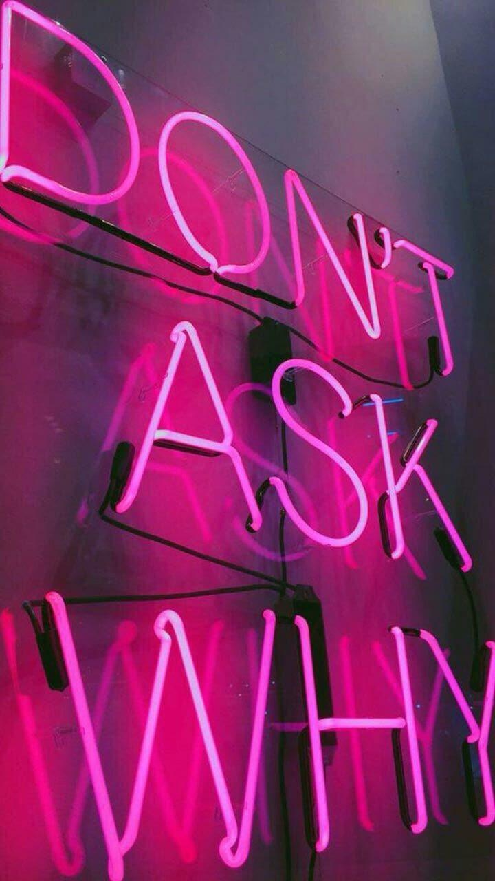 Neon Pink And Aesthetic Image Sfondi Fighissimi Per Iphone 720x1280 Wallpaper Teahub Io