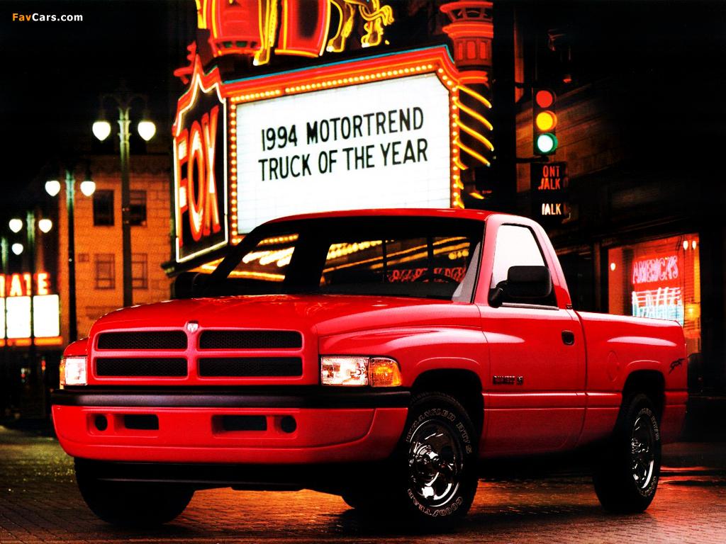 Dodge Ram 1500 Sport Regular Cab 1994 2001 Wallpapers 1994 Dodge Ram Sport 1024x768 Wallpaper Teahub Io