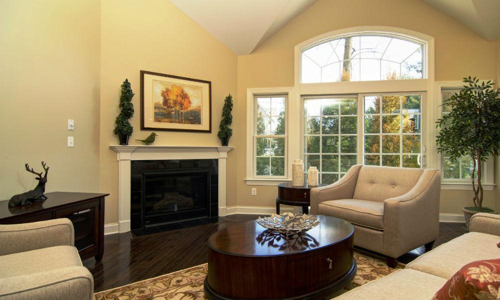 Contoh Desain Ruang Tamu Minimalis - Hiasan Ruang Tamu Orang Kaya - HD Wallpaper