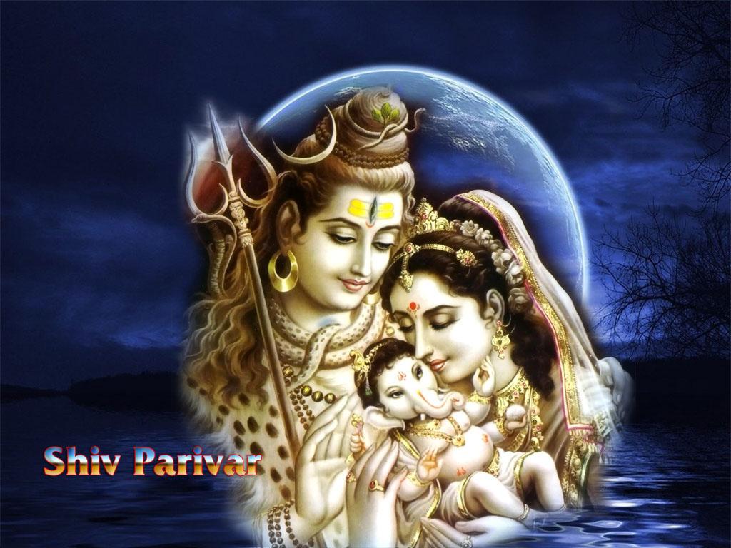 Navratri Utsav, Ganesh Wallpaper, Navratri Wallpapers, - Lord Shiva And Ganesh - HD Wallpaper
