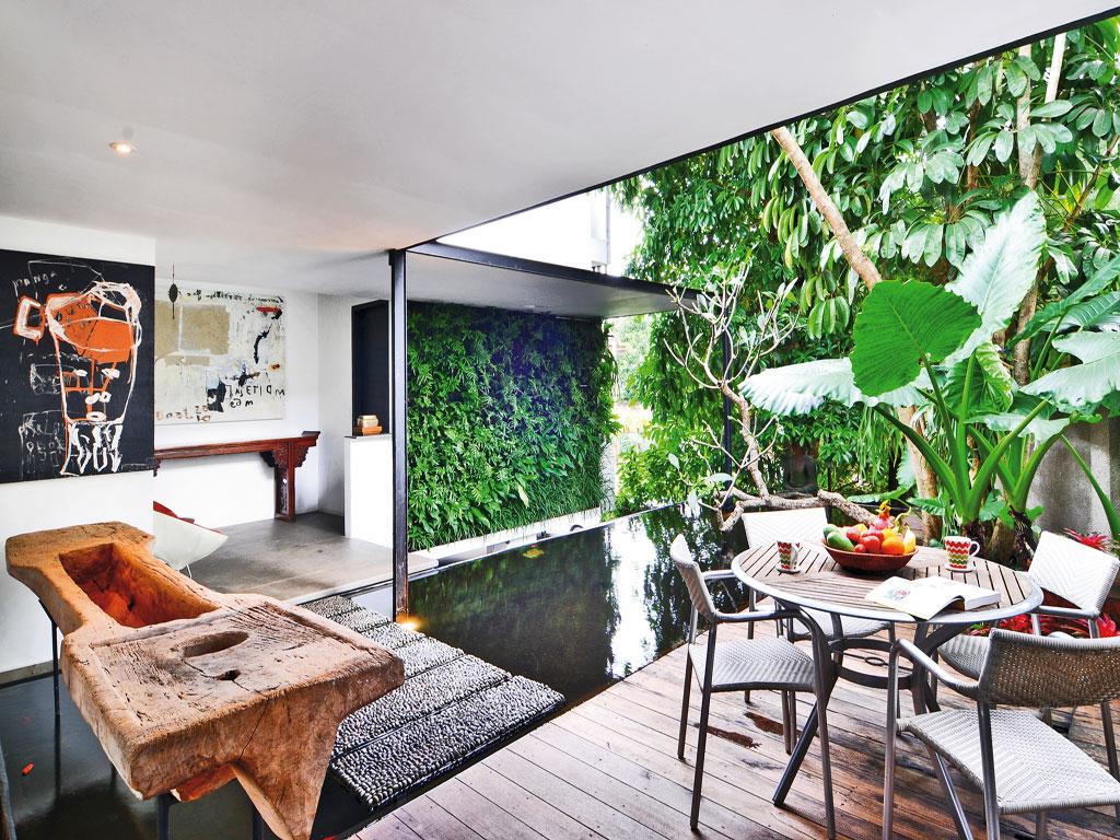 Jardin Decoracion Terrazas Pequeñas - HD Wallpaper