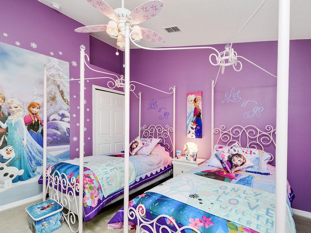 Kamar Tidur Anak - Frozen Room - 4x4 Wallpaper - teahub.io