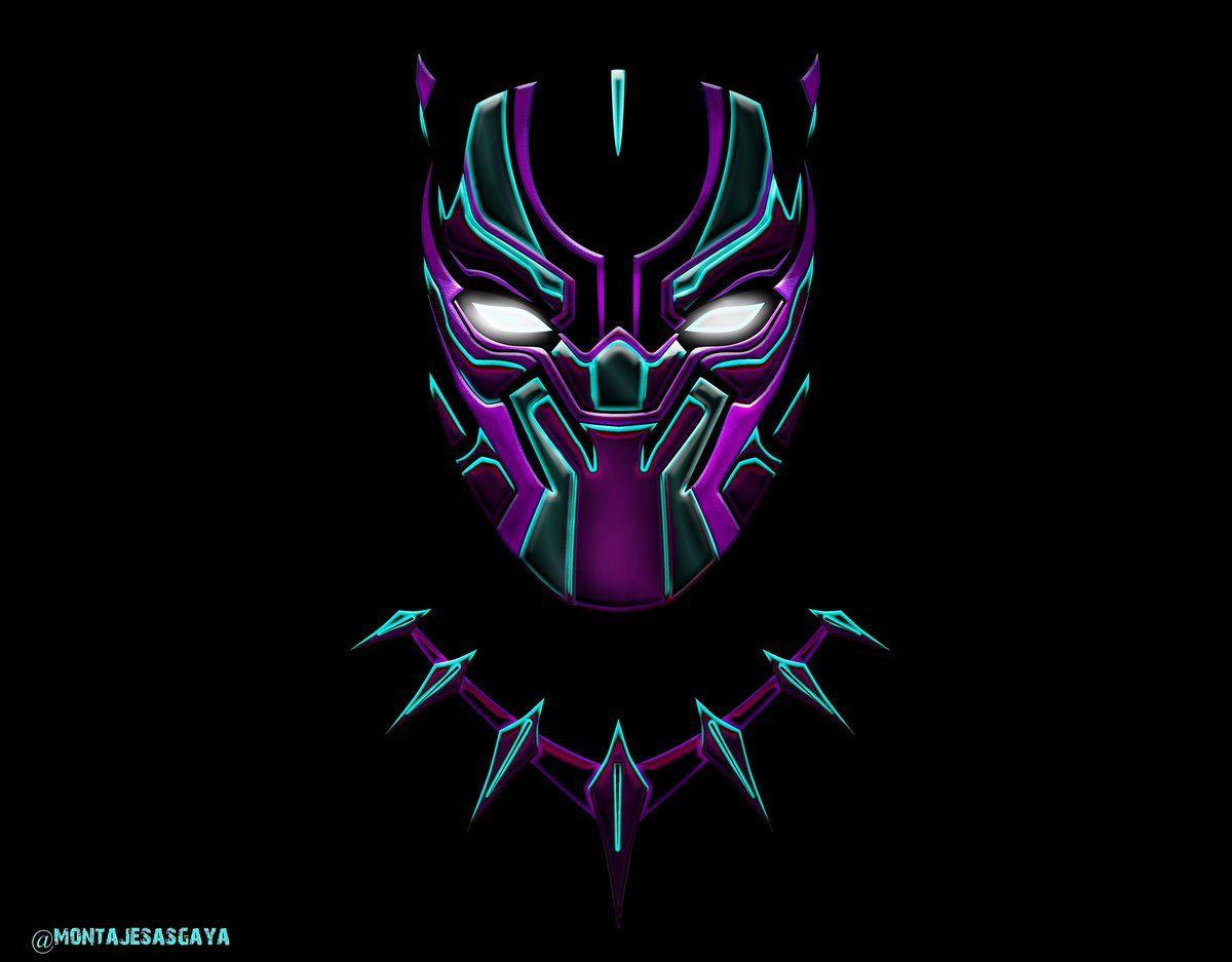 Black Panther Logo Cool - Black Panther Wallpaper Hd For ...