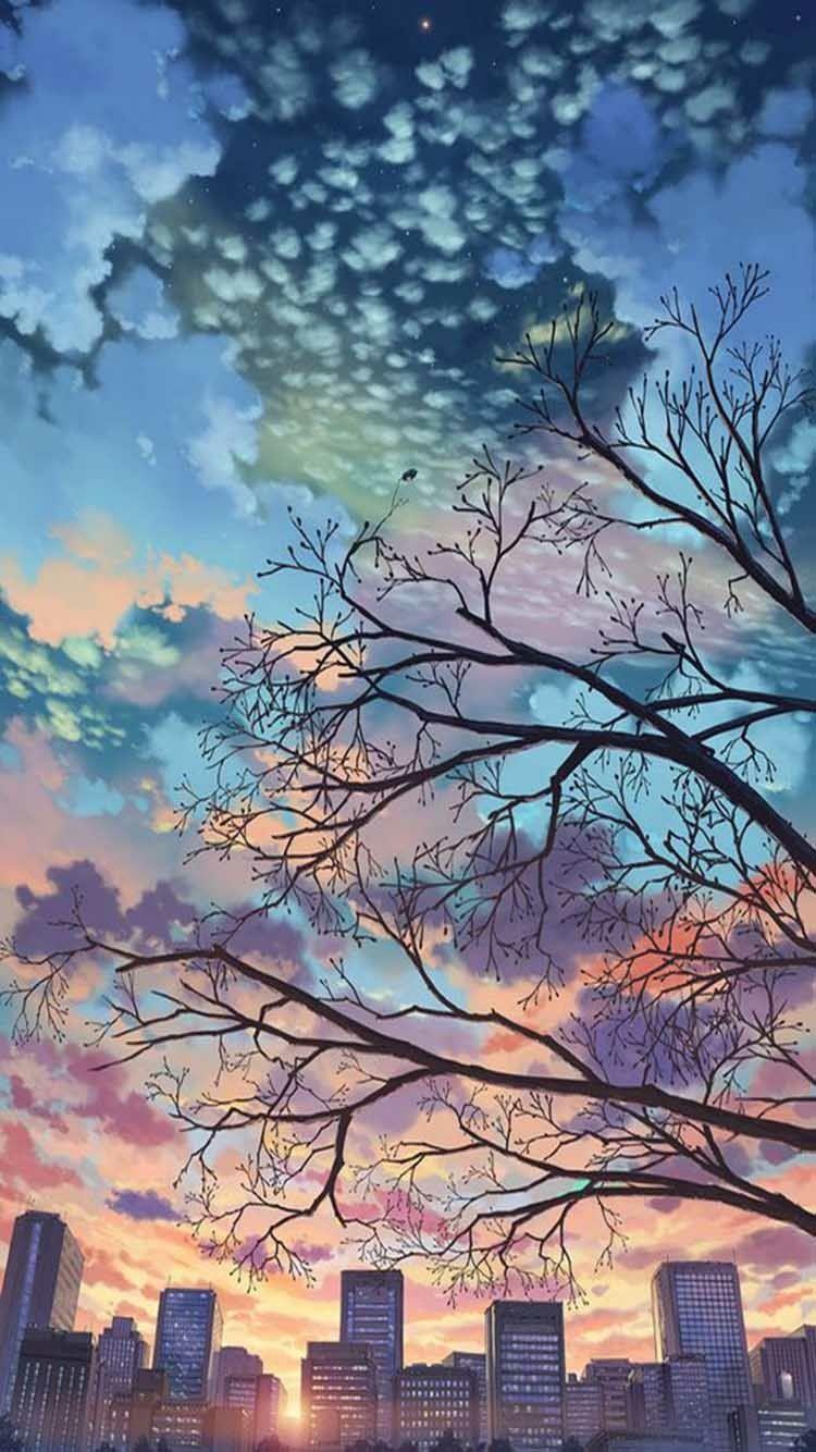 Anime Aesthetic Wallpaper Iphone 750x1334 Wallpaper Teahub Io