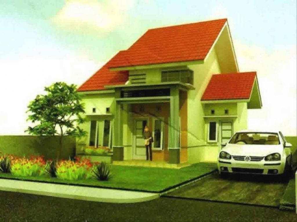 Contoh Cat Rumah Minimalis Warna Hijau - 1024x768 ...