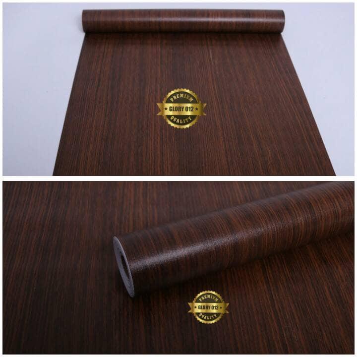Stiker Dinding Motif Kayu - HD Wallpaper