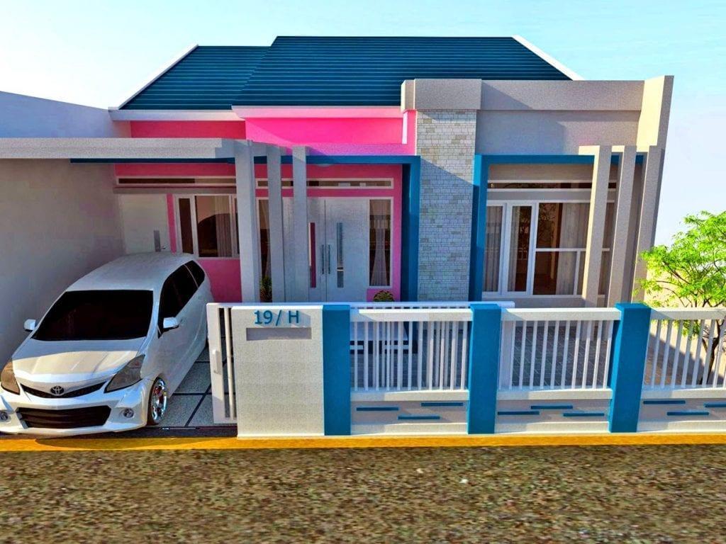 Warna Cat Tiang Luar Rumah - 1024x768 Wallpaper - teahub.io