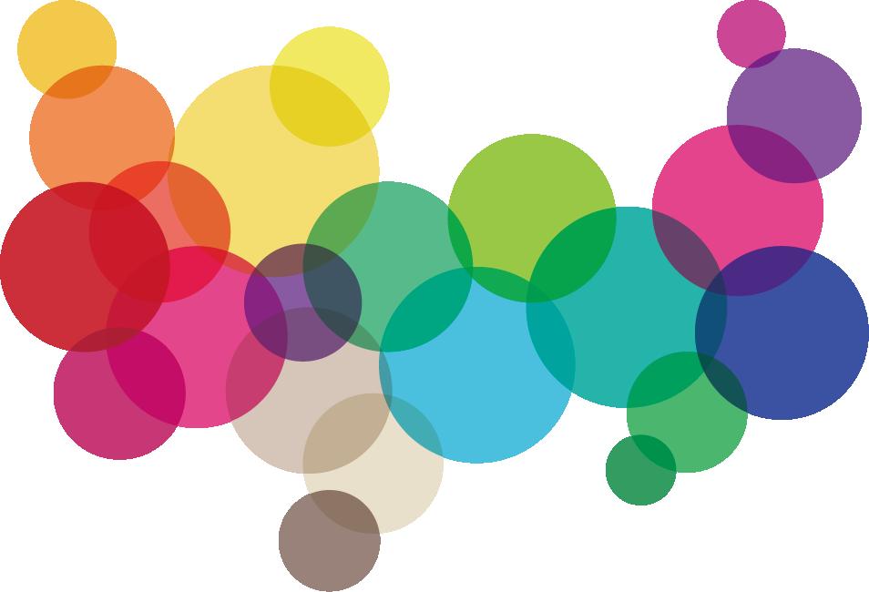 Clip Art Rainbow Wallpaper Bubble Material - Rainbow Bubble Clip Art - HD Wallpaper