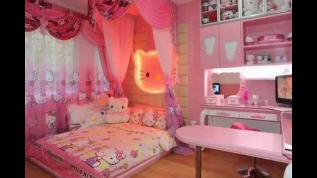 Cute Hello Kitty Room - 4x4 Wallpaper - teahub.io
