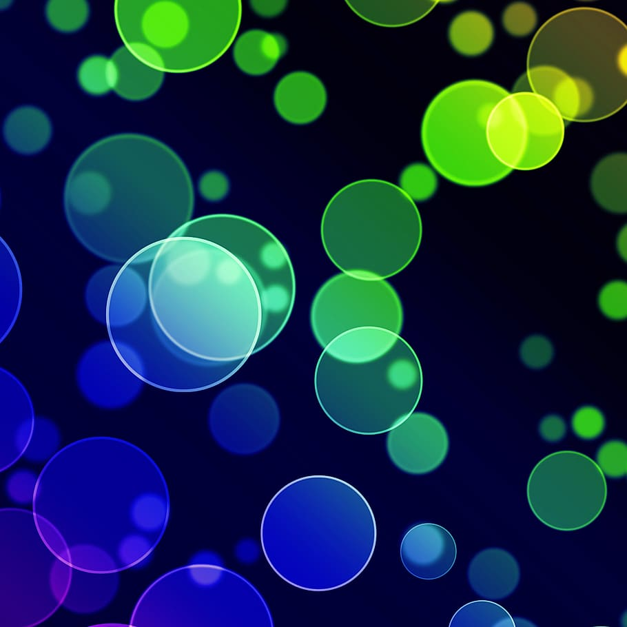 Abstract, Background, Bright, Bubbles, Circle, Circles, - Background Images Repeat Pattern - HD Wallpaper