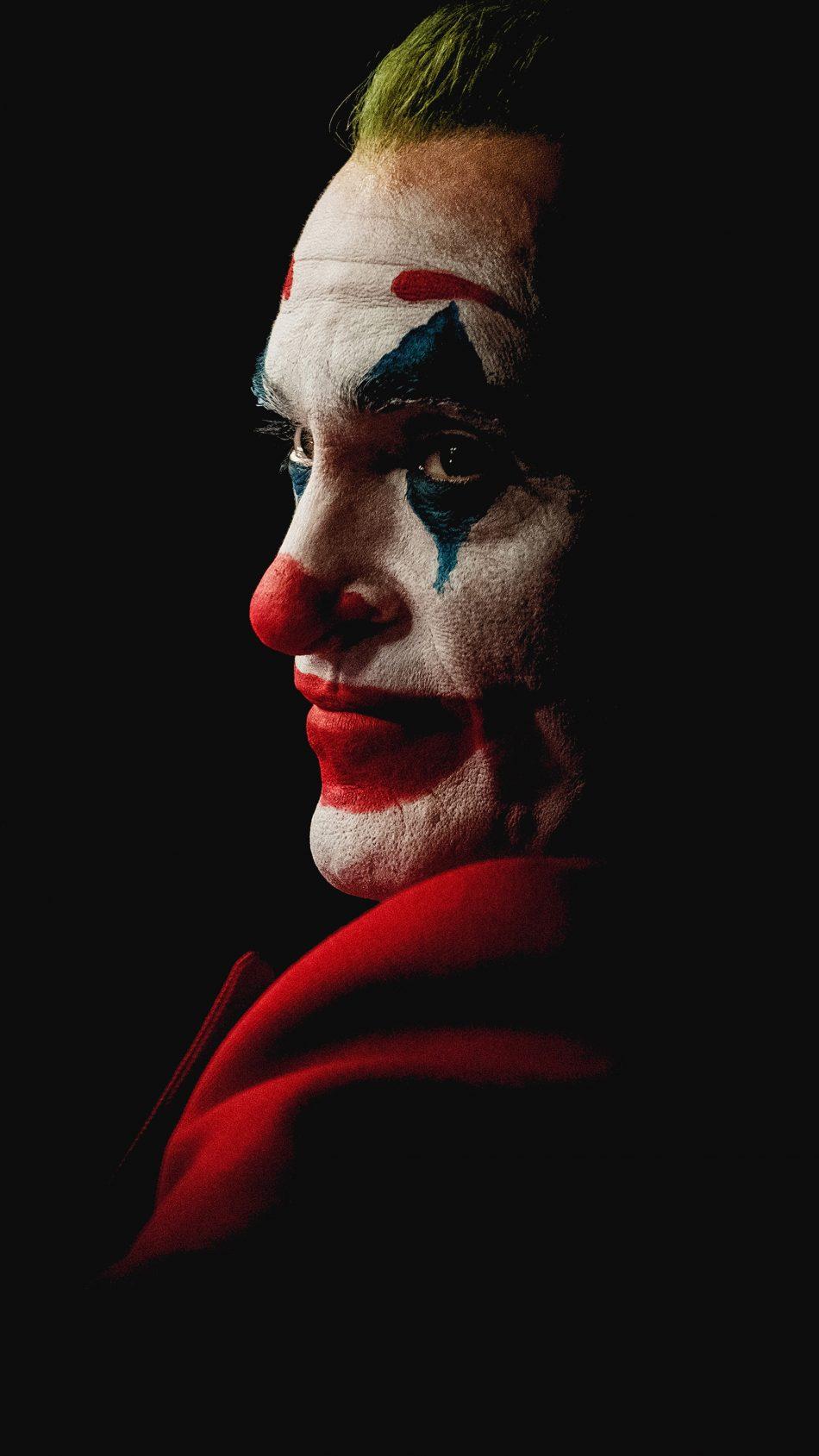 Joaquin Phoenix Joker Black Background 4k Ultra Hd - Joker 4k Wallpaper Mobile - HD Wallpaper