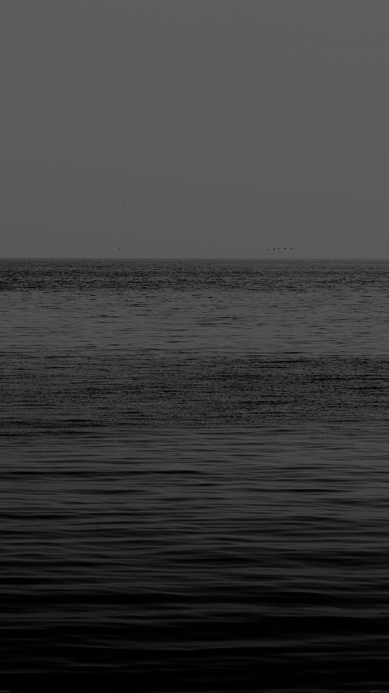 Black Sea Ocean Flat Nature Android Wallpaper Dark Ocean Wallpaper Iphone 1242x2208 Wallpaper Teahub Io