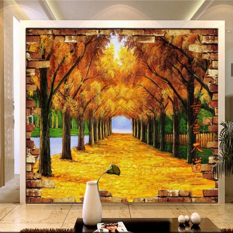 Canvas Acrylic Painting Scene - HD Wallpaper