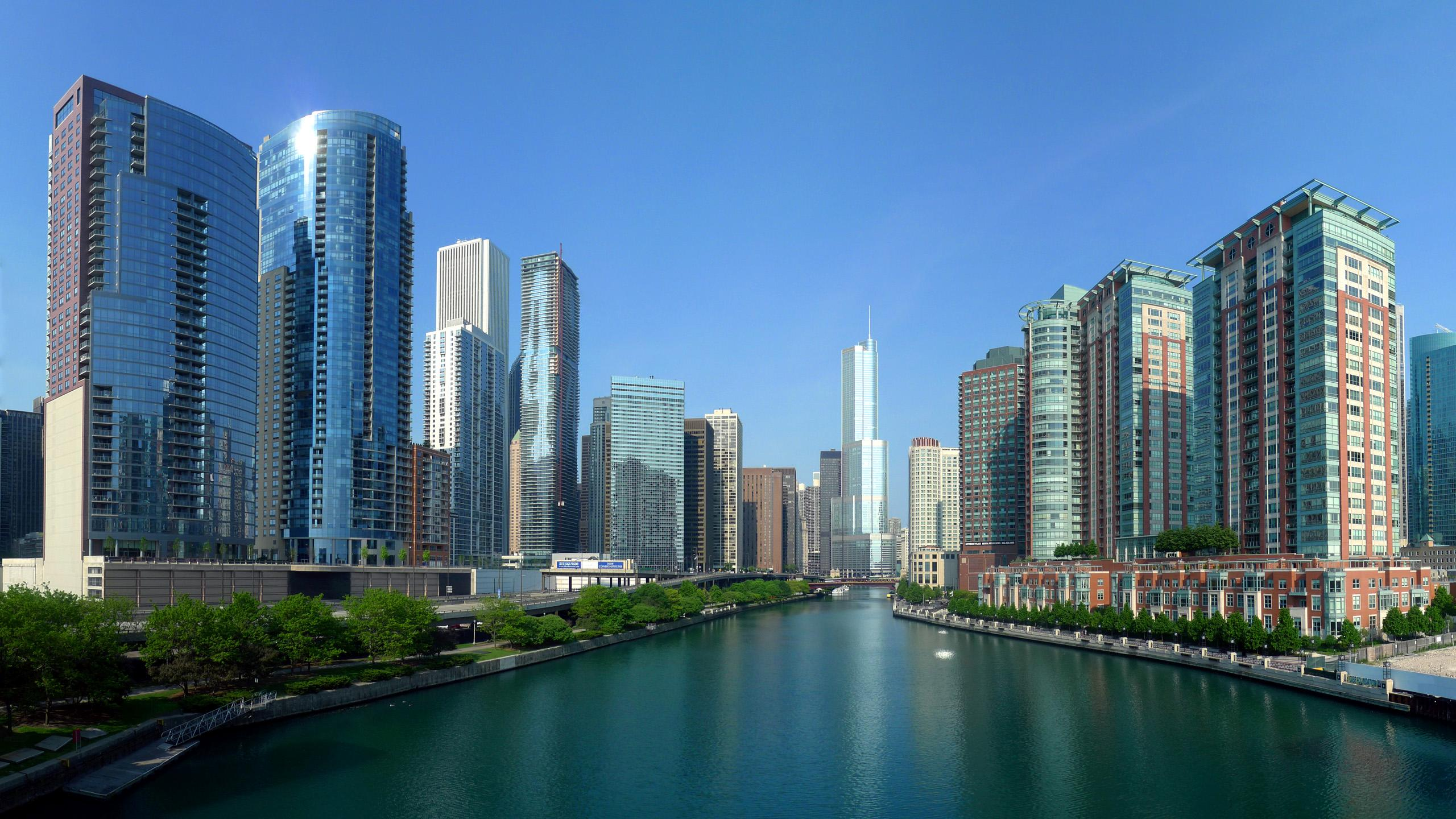 Wallpaper Jakarta   Background Photos Of Downtown Chicago ...