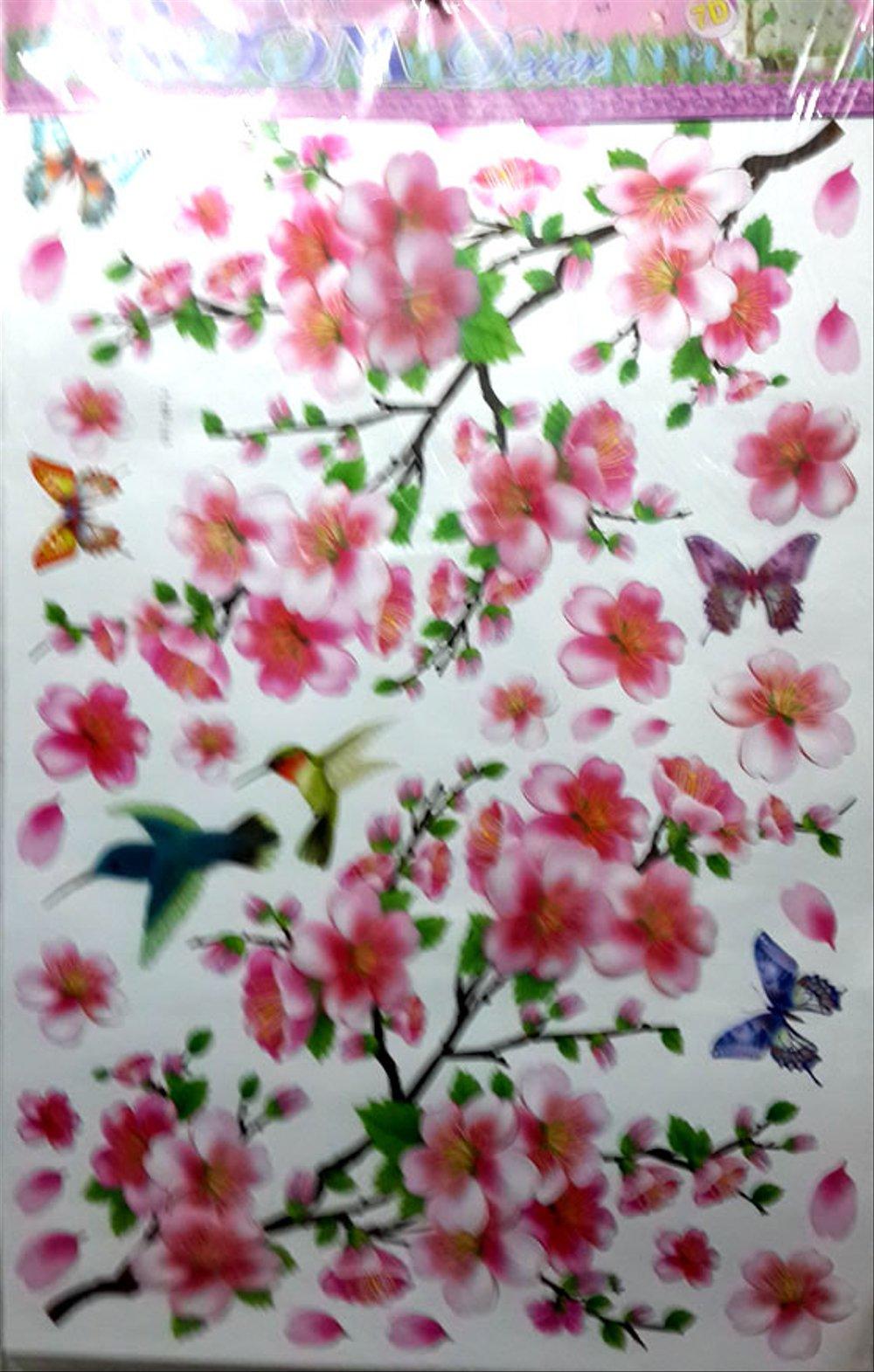 138 1389225 wallpaper 3d bunga sakura gambar dp bbm wall