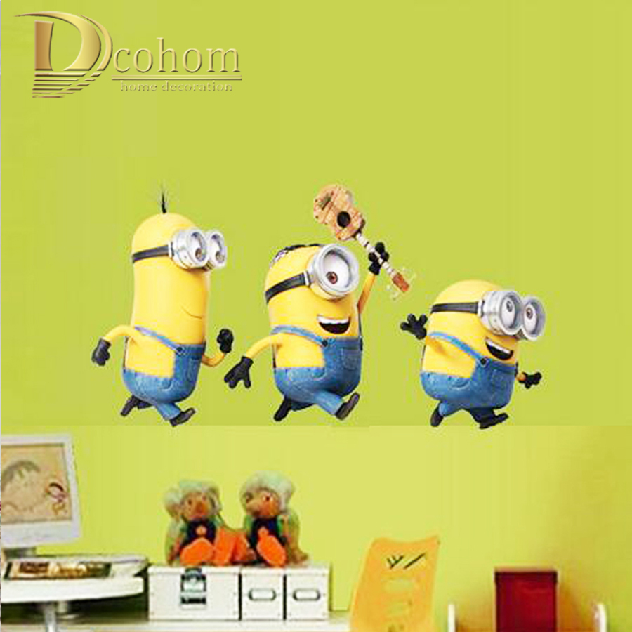 107 Wallpaper Dinding Kamar Minion Wallpaper Dinding Minions Wall Stickers 900x900 Wallpaper Teahub Io