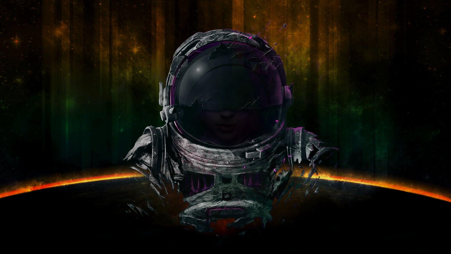 Parrot Security Os Wallpapers Sci Fi Space Pilot 1920x1080 Wallpaper Teahub Io