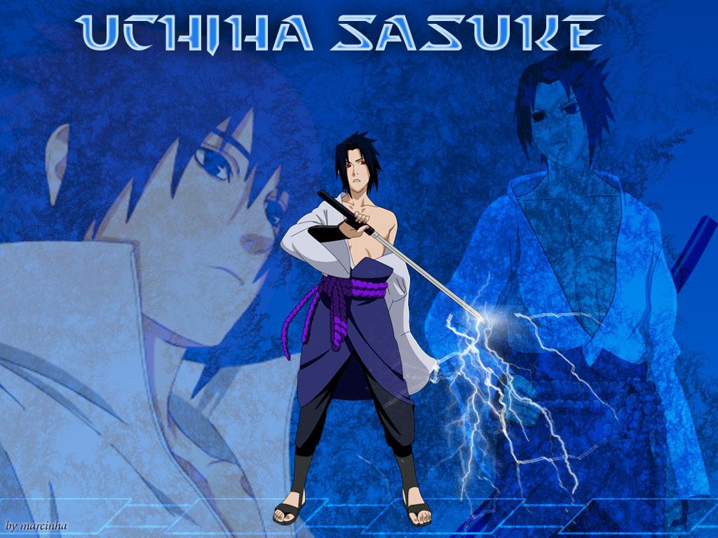 Sasuke <3 - Gambar Tulisan Sasuke Uchiha - HD Wallpaper