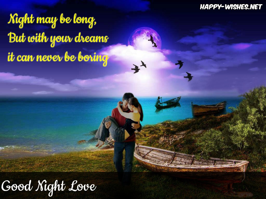 Good Night Love Images - Happy Good Night For Love - HD Wallpaper