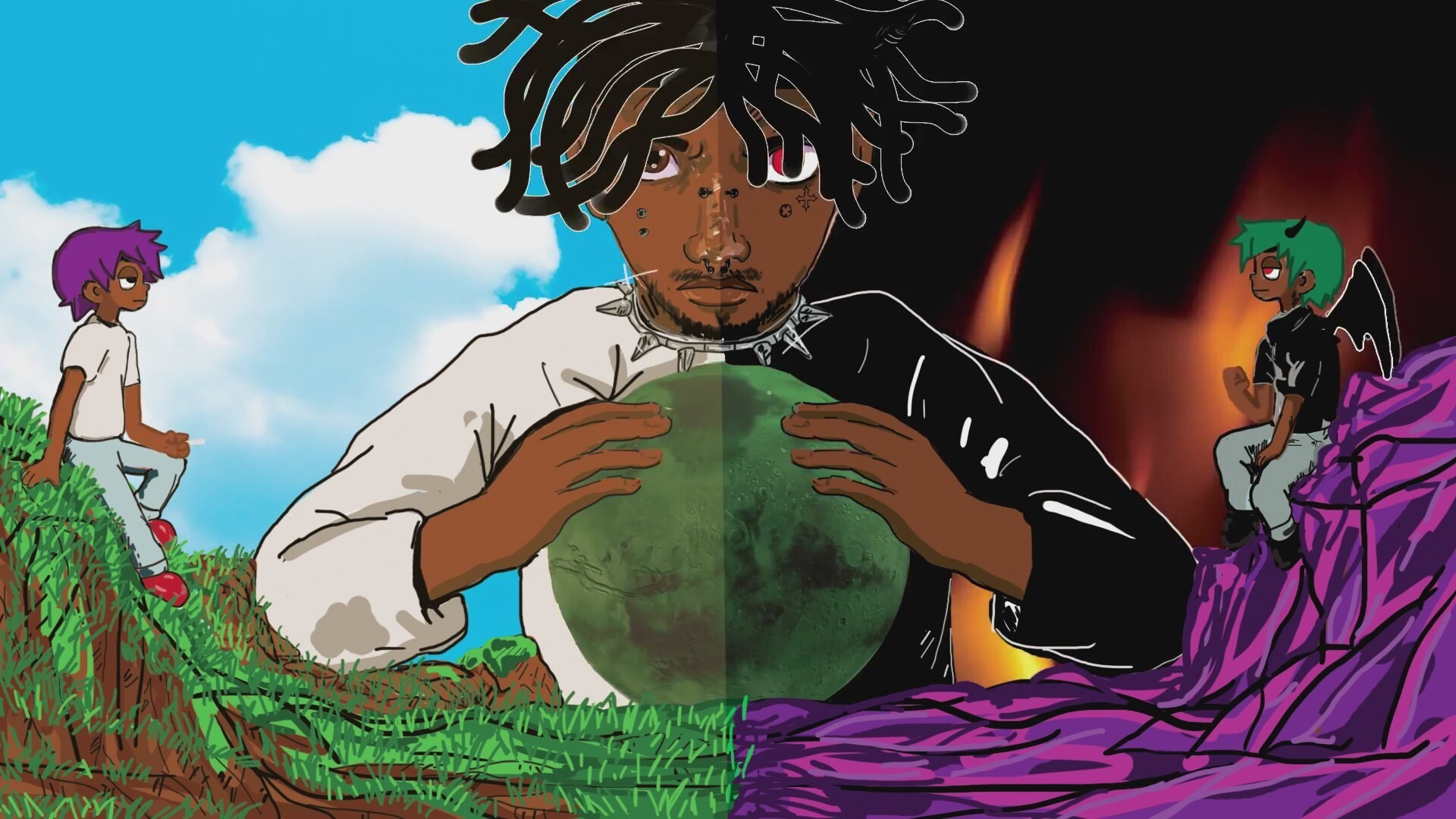 Lil Uzi Vert Animated Lil Uzi Vert 1920x1080 Wallpaper Teahub Io You can download the wallpaper as well as utilize it for your desktop computer. lil uzi vert animated lil uzi vert