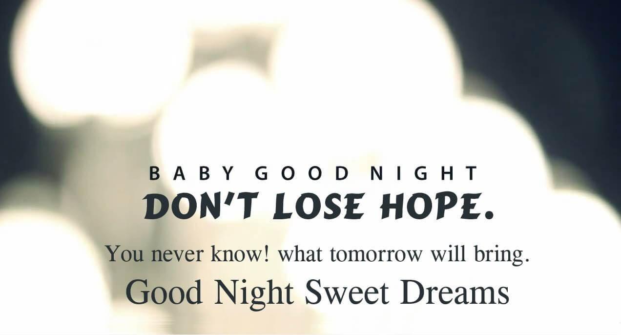 Romantic Good Night Love Hd Wallpaper - Good Night Quotes My Sweetheart - HD Wallpaper