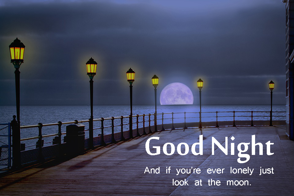 Hd Free Download Good Night Images - Good Night Deep Quotes - HD Wallpaper