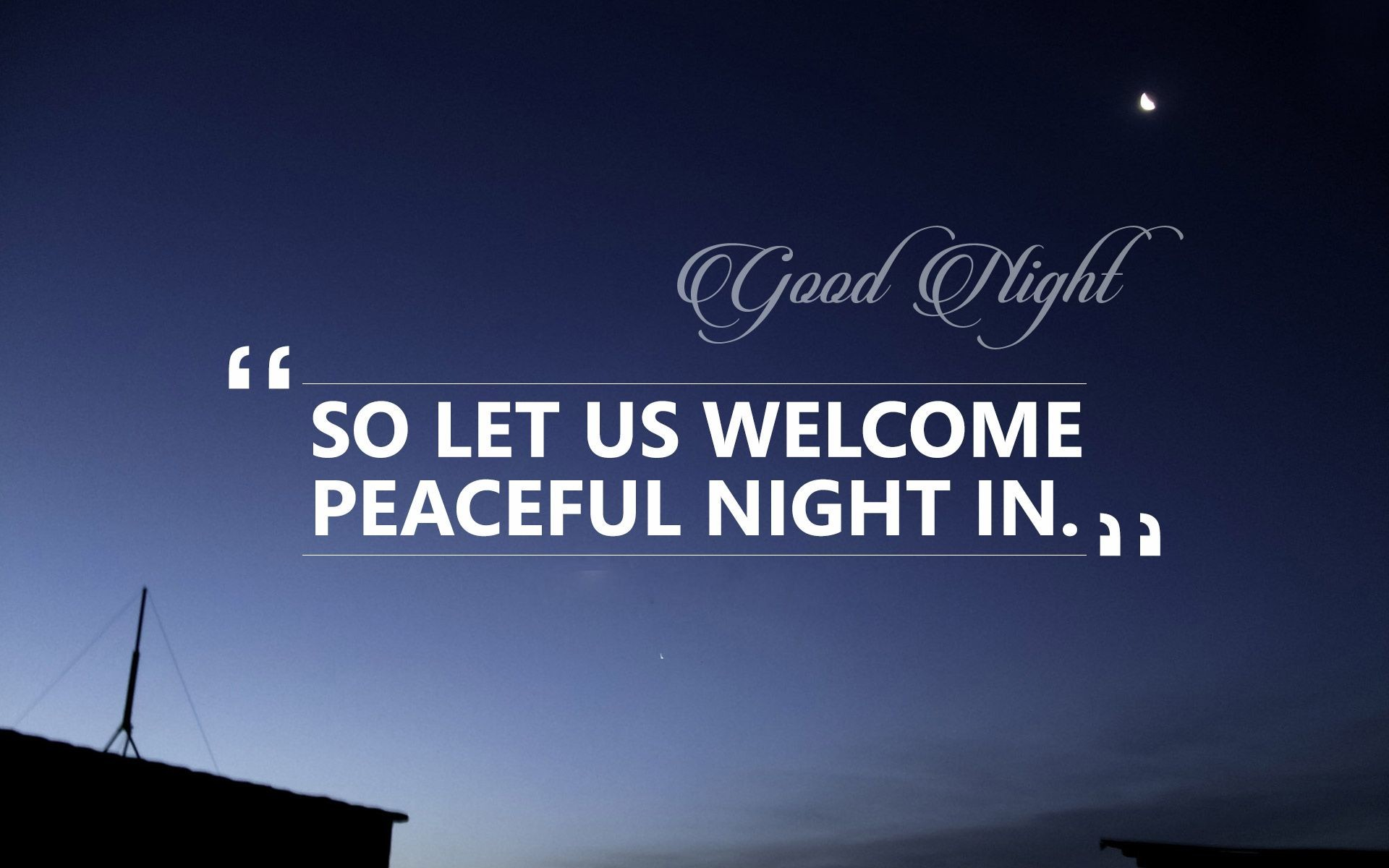 1920x1200, Good Night Images Good Night Images Good - Best Quotes On Night - HD Wallpaper