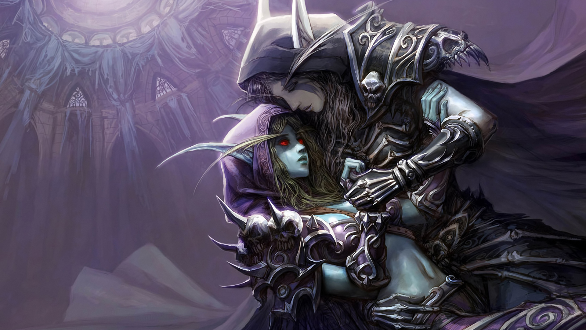 Wow Lady Sylvanas Windrunner 1920x1080 Wallpaper Teahub Io