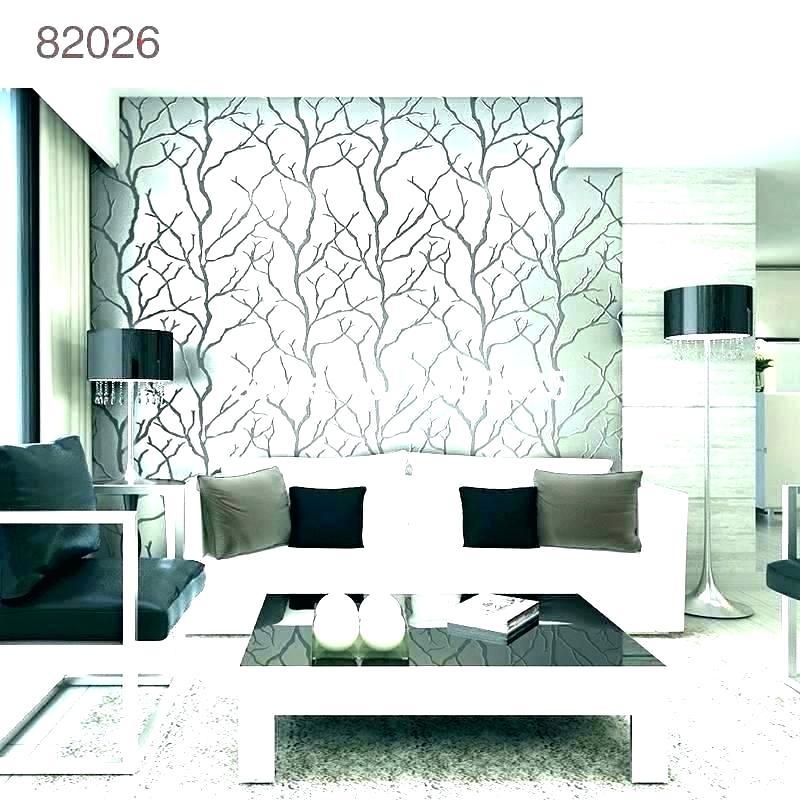 Modern Wallpaper Ideas Brick Wallpaper Ideas For Living - Modern Sitting Room Wallpaper Designs - HD Wallpaper