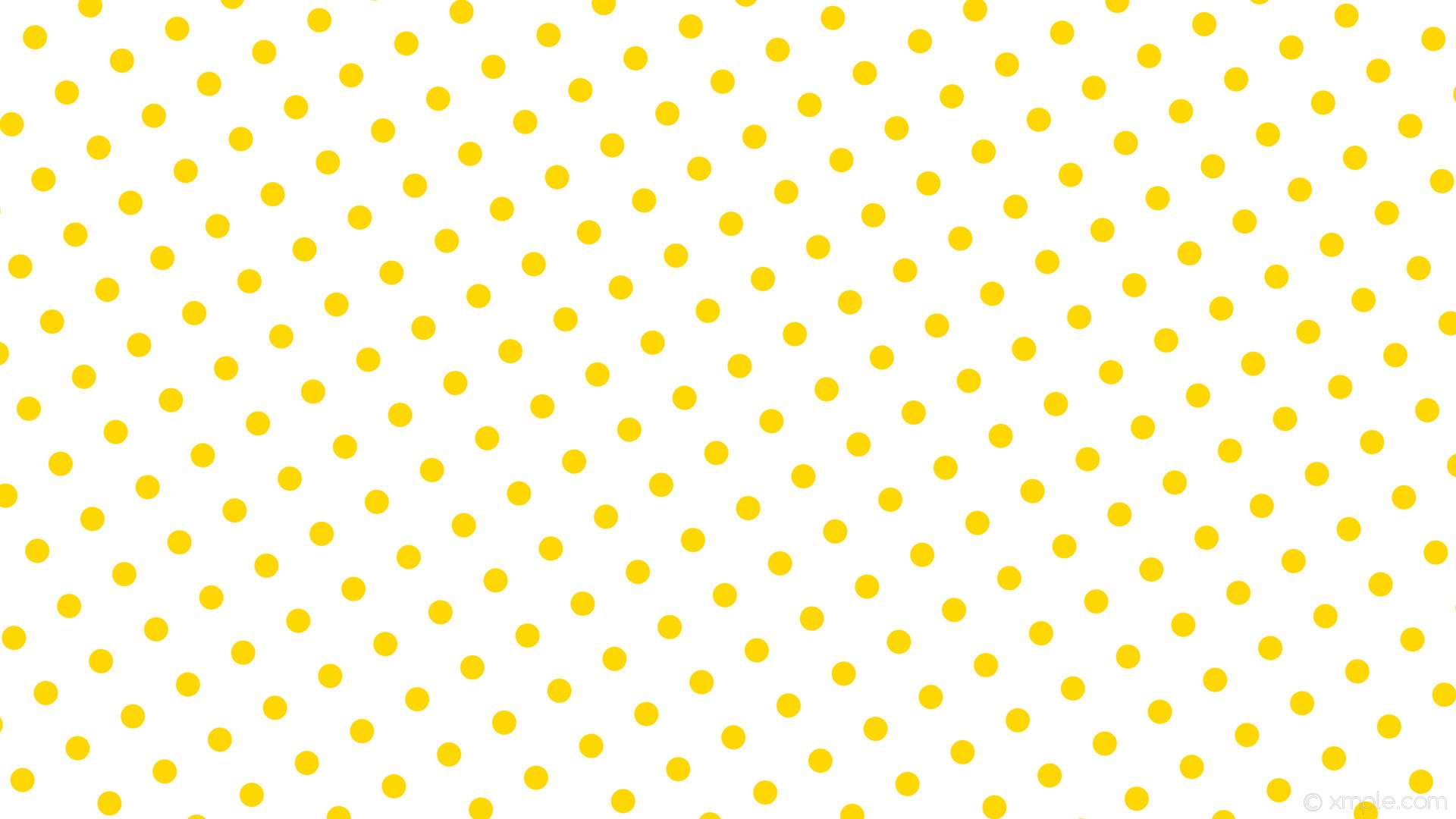 Wallpaper White Polka Dots Yellow Spots Gold Yellow Spots 1920x1080 Wallpaper Teahub Io
