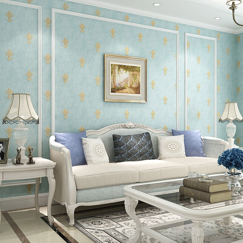 Paysota Modern 3d Wallpaper Fashion Flower Bedroom - Romantic Wall Paper For Bed Room - HD Wallpaper