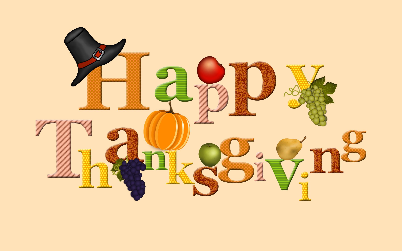 Happy Thanksgiving Day - HD Wallpaper