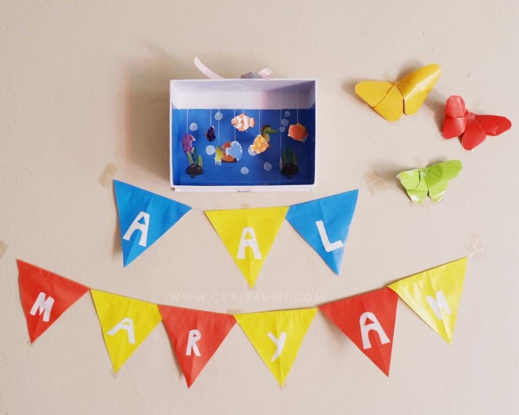 Kreasi Dari Kertas Origami Untuk Hiasan Dinding - HD Wallpaper