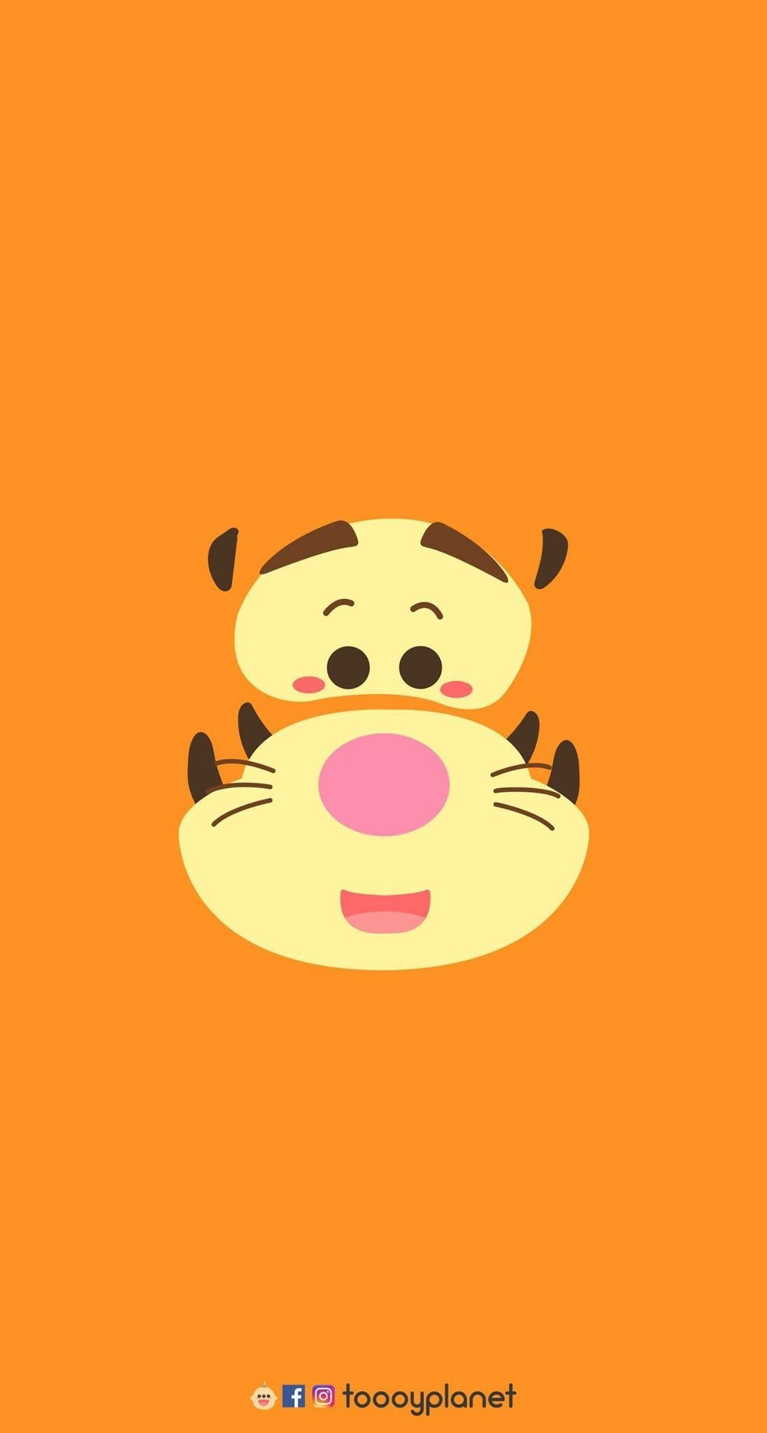 1097x2048, Pooh Bear, Tigger, Painting, Winnie The - Cartoon Animated Wallpaper Hd - HD Wallpaper