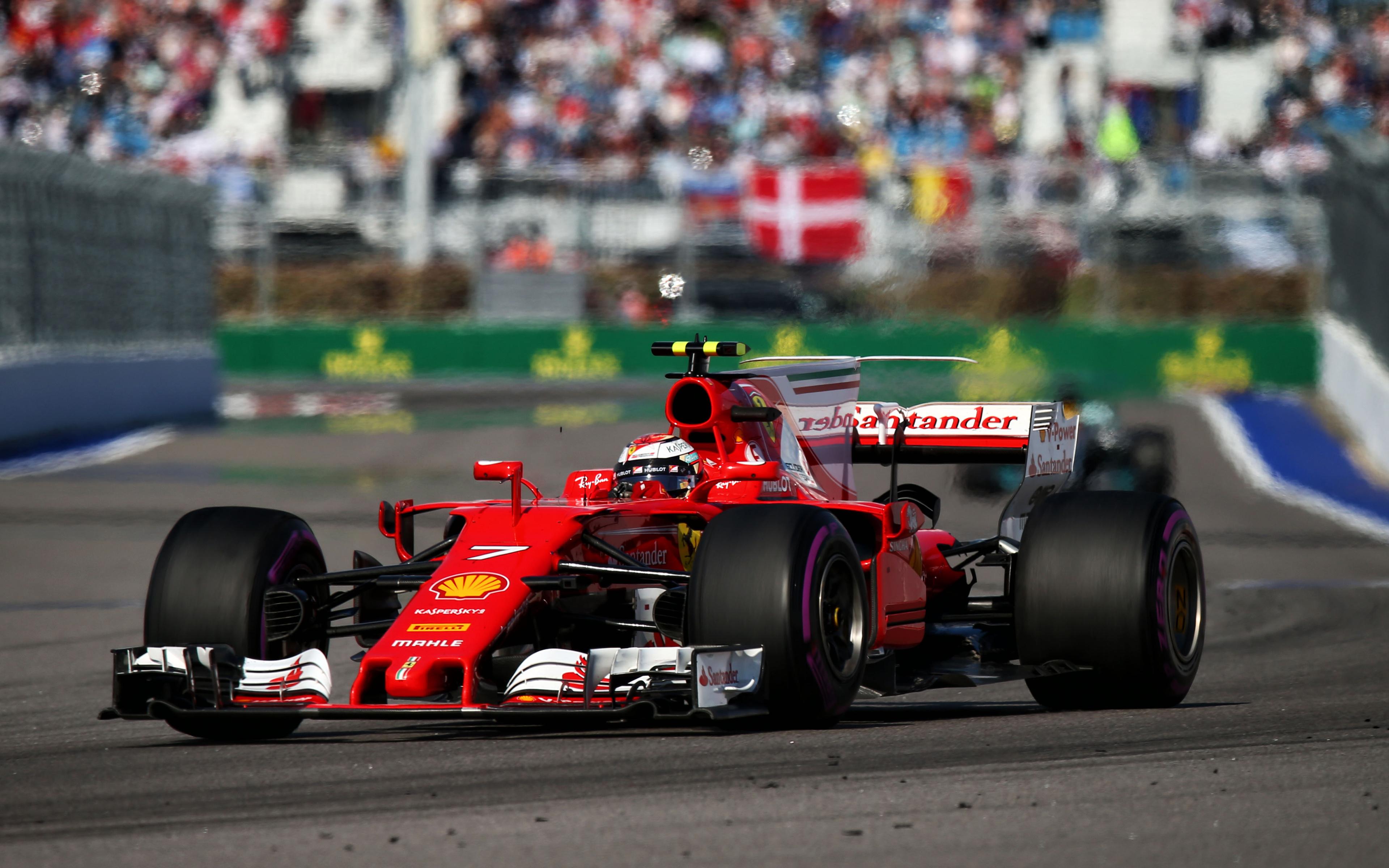 Kimi Raikkonen Ferrari Sf70 H Formula 1 Racing Car Formula 1 Hd Ferrari 3840x2400 Wallpaper Teahub Io