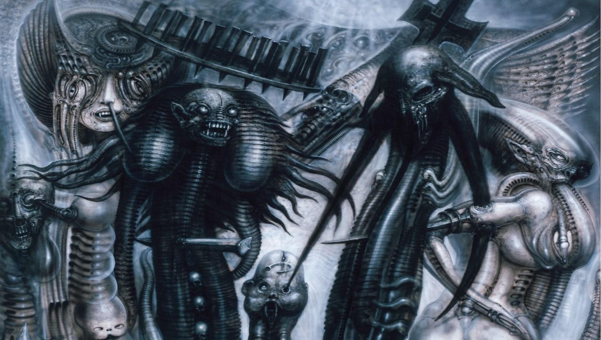 1920x1088, H R Giger Art Artwork Dark Evil Artistic - Hr Giger Scariest Artwork - HD Wallpaper