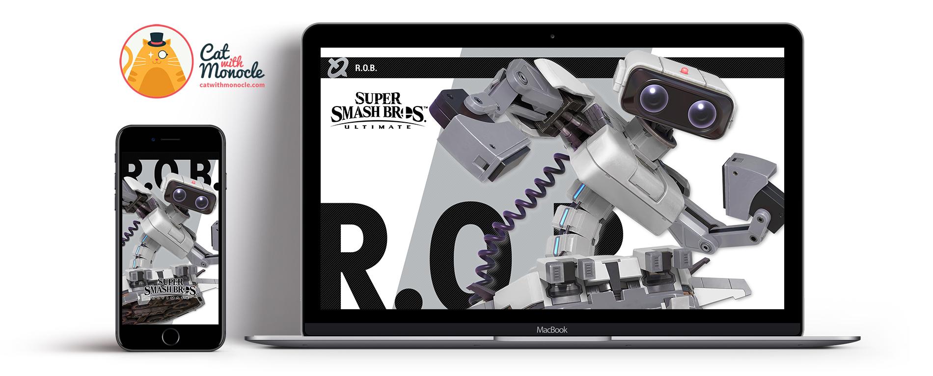 Super Smash Bros Ultimate Rob - Super Smash Bros Ultimate Banjo - HD Wallpaper