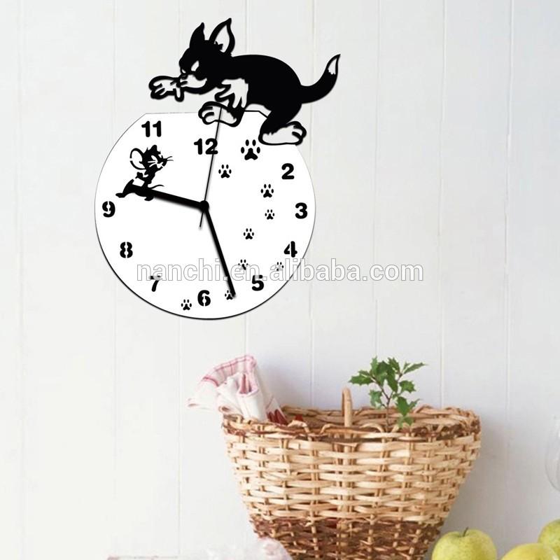 Kartun Lucu Wallpaper Hewan Clock Rumah Sofa Ruang - Romantic Pilot Quotes - HD Wallpaper